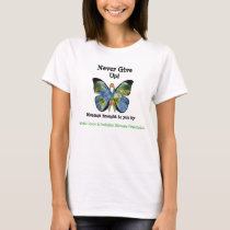 Global Lyme Butterfly Awareness Shirt