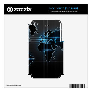 Global Map Skin For iPod Touch 4G