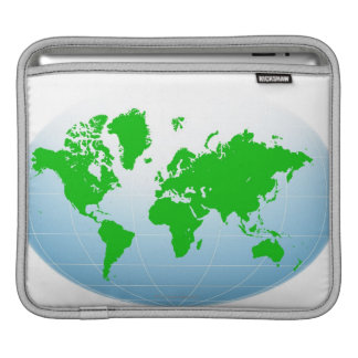 Global Map Sleeve For iPads