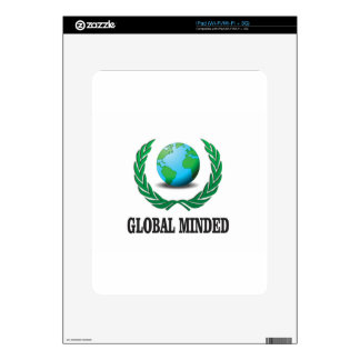 global minded skin for the iPad