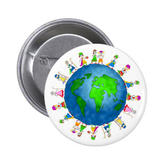 Global Nativity Kids Pins