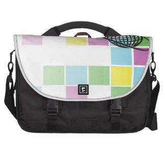 Global Neon Block Laptop Bag