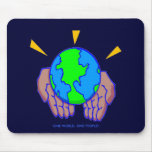Global, ONE WORLD, ONE PEOPLE! Mouse Pads