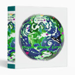 Global Peace protect Mother Earth Binder