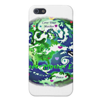 global peace protect mother earth i phone case