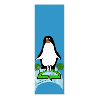 Global Penguin Mini Business Card