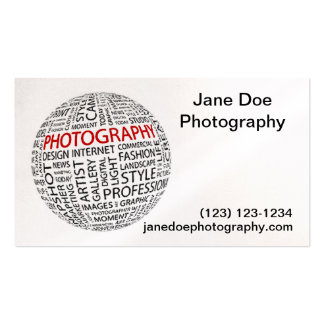 Global Photography Double-Sided Standard Business Cards (Pack Of 100)
