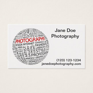 Global Photography Business Card