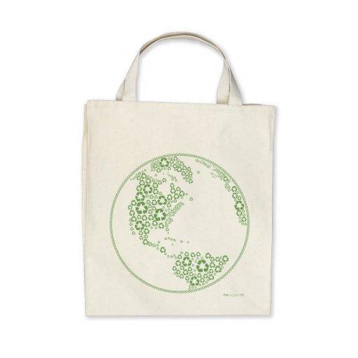 Global Recycle Organic Tote bag