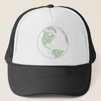 Global Recycle Trucker Hat
