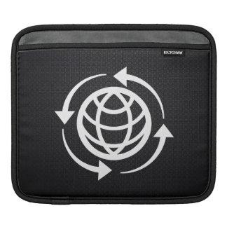 Global Rotations Minimal iPad Sleeves