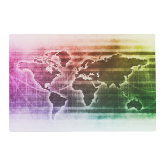 Global Science Research Project as a Concept Laminated Placemat