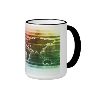 Global Science Research Project as a Concept Ringer Coffee Mug