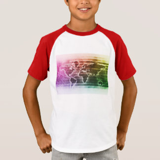 Global Science Research Project as a Concept T-Shirt