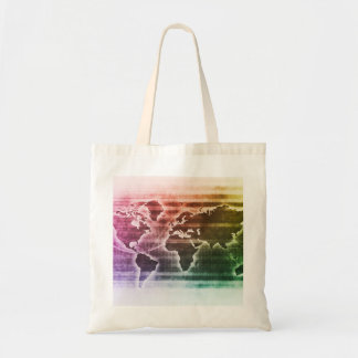 Global Science Research Project as a Concept Tote Bag