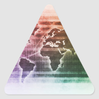 Global Science Research Project as a Concept Triangle Sticker