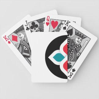 Global Sisterhood Black & White Playing Card