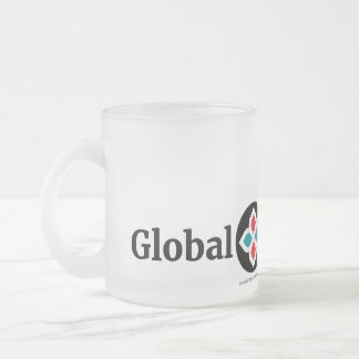 Global Sisterhood Frosted 10 oz Frosted Glass Mug