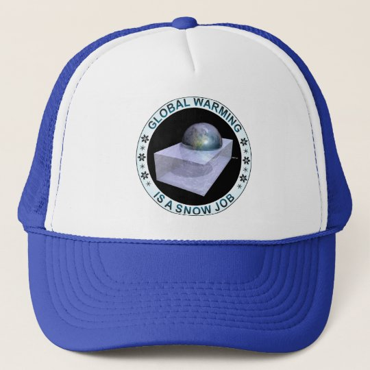 Global Snow Job Trucker Hat