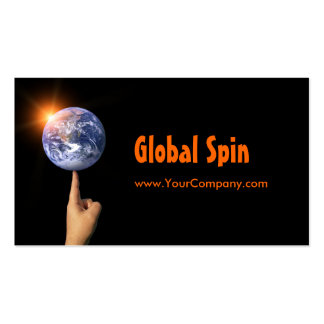 Global Spin Business Card