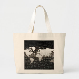 Global Subscription Services System as a Platform Large Tote Bag
