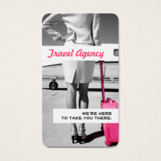Global Travel Agency Agent Business Card at Zazzle