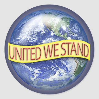 Global United We Stand stickers