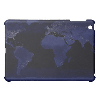 Global View of Earth's City Lights iPad Mini Case