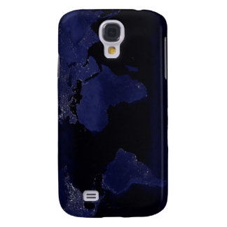 Global View of Earth's City Lights Samsung Galaxy S4 Case