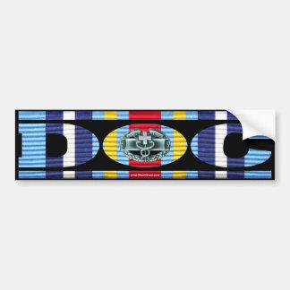 Global War on Terrorism Ribbon DOC Sticker Car Bumper Sticker