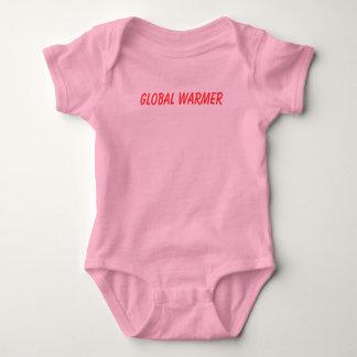 Global Warmer - Customized Baby Bodysuit
