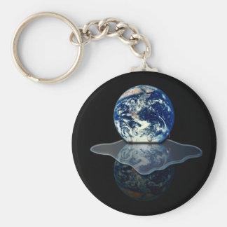 Global Warming 1 Basic Round Button Keychain