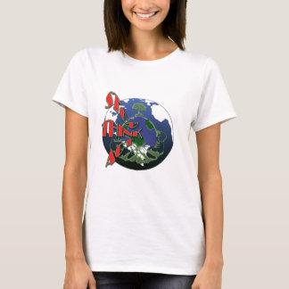 Global warming awareness t-shirts