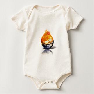 Global Warming Baby Bodysuit