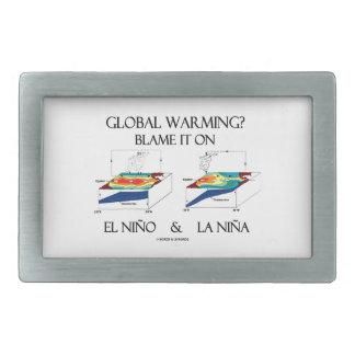 Global Warming? Blame It On El Niño and La Niña Belt Buckle