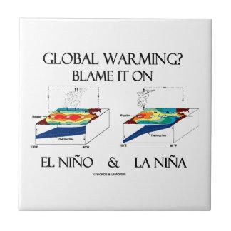 Global Warming? Blame It On El Niño and La Niña Ceramic Tile