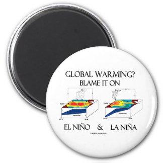 Global Warming? Blame It On El Niño and La Niña Refrigerator Magnets