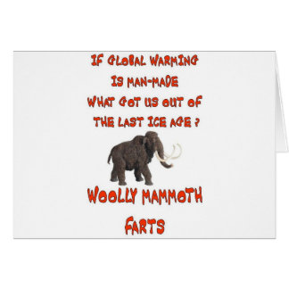GLOBAL WARMING CARD