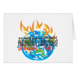 Global Warming Greeting Card