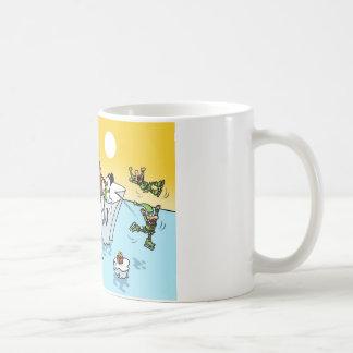 Global Warming Christmas design Coffee Mug
