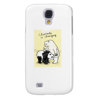 Global warming climate is changing bears galaxy s4 case
