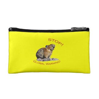 Global Warming Cosmetic Bag