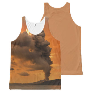 Global warming designs All-Over print tank top