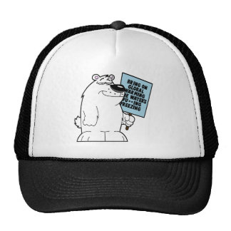 Global warming doesn't exist mesh hat