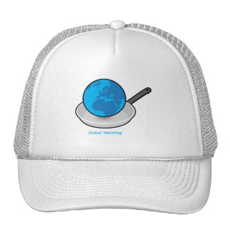 Global Warming Earth in a Pan Hat