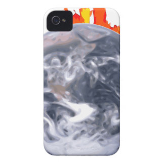 Global Warming Earth iPhone 4 Case-Mate Case