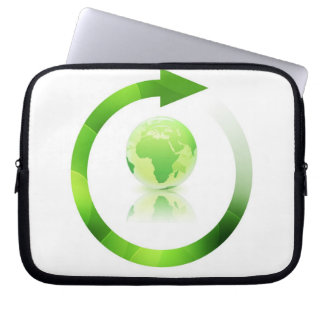 Global Warming Electronics Bag Computer Sleeve