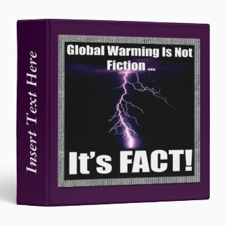 Global Warming Facts Earth Day Avery Binder