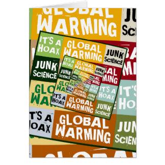 Global Warming Fraud Card