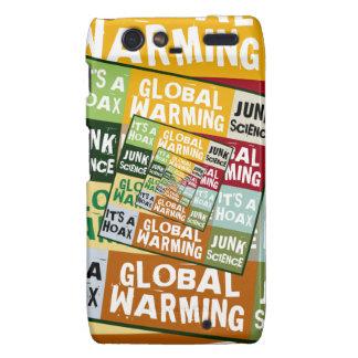 Global Warming Fraud Droid RAZR Cases